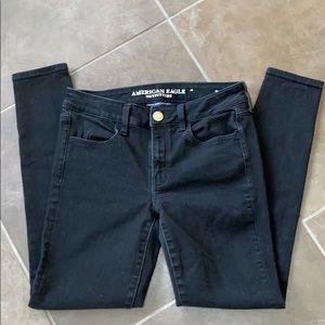 American Eagle super super stretch skinny jeans